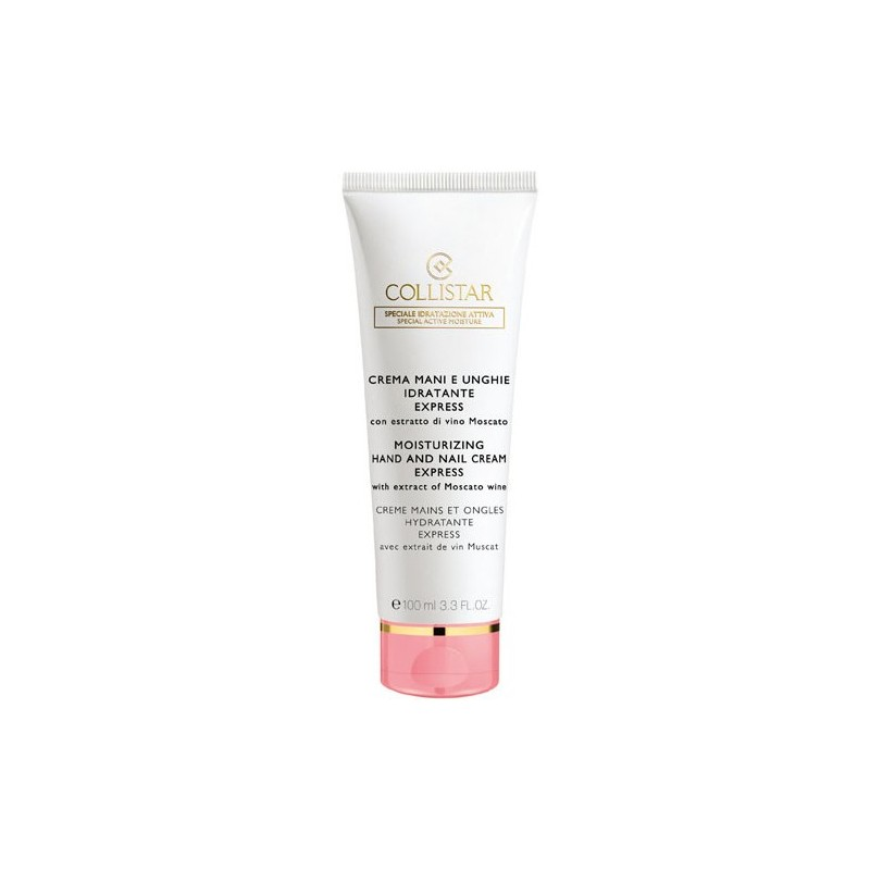 Collistar Express Moisturizing Hand and Nail Cream 100ML