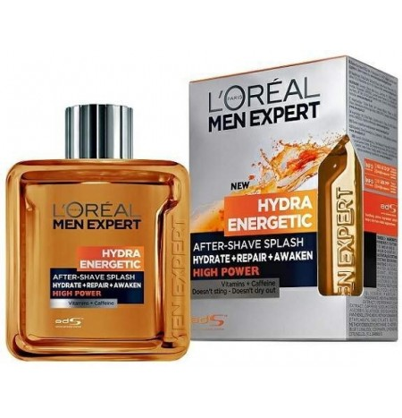 L'Oreal Men Expert Hydra Energetic 100ML Lozione Dopobarba High Power
