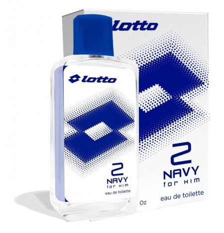 Lotto Navy 2 For Him 100ML Aftershave Lotion