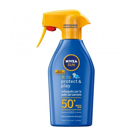 Nivea Maxi Spray Solare Protect & Play FP50+ 300ML