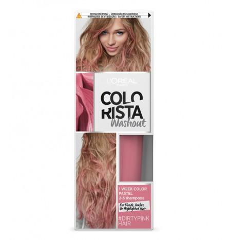 L'Oréal Paris Colorista Washout 80ML DirtyPinkHair