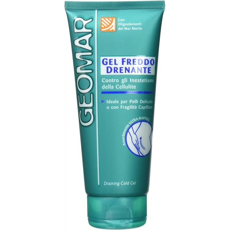GEOMAR Draining Cold Gel Against the imperfections of Cellulite 200ML