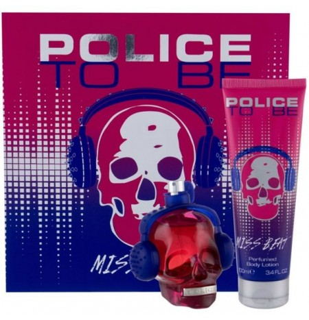 Police To Be Miss Beat 40ML Eau de Parfum + Body Lotion 100ML