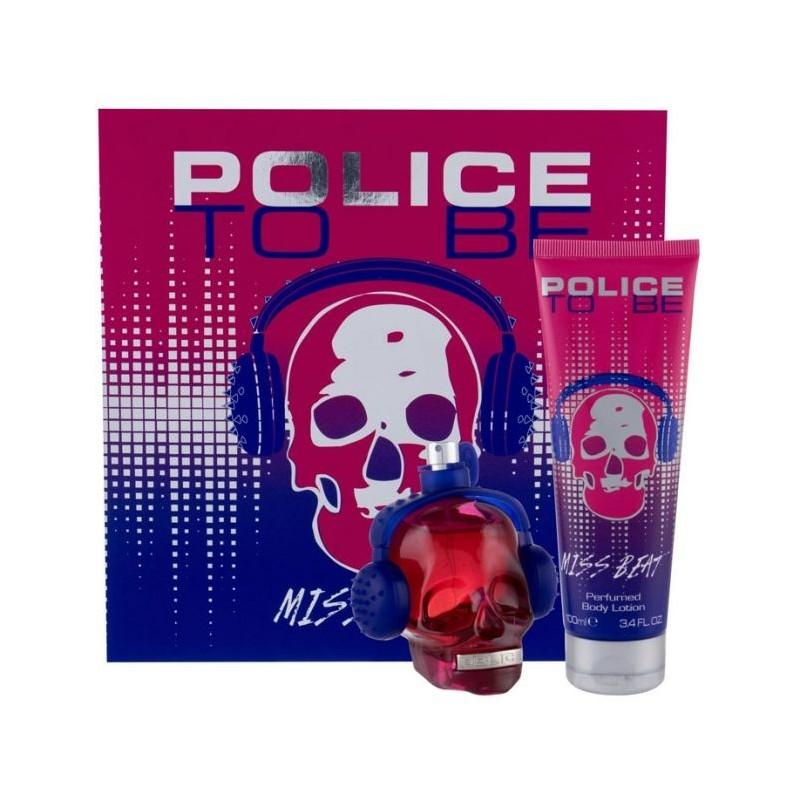 Police To Be Miss Beat 40ML Eau de Parfum + Body Lotion 100ML