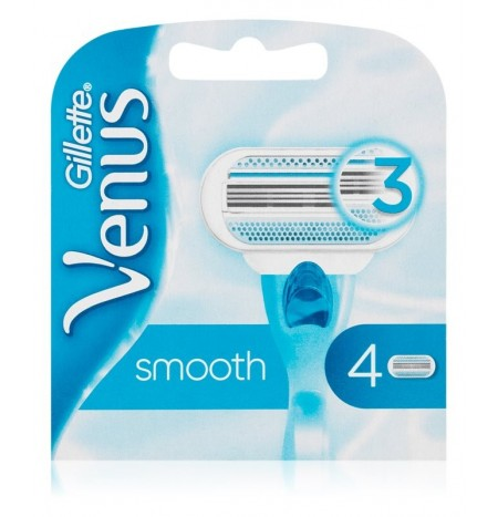 Gillette Venus Smooth Lame di Ricambio 4 Pz