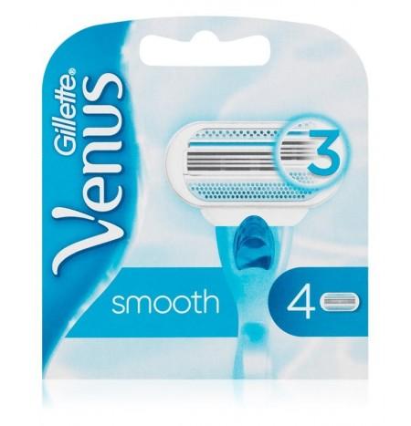 Gillette Venus Smooth Replacement Blades 4 Pcs