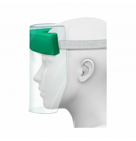 Protective Plexiglass Visor for Face, Eyes and Mouth Protection