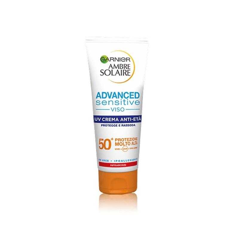 Garnier Ambre Solaire Advanced Sensitive 50+ Anti-Aging Face Cream 100ML