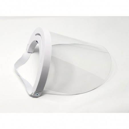 Protective PVC Acetate Visor for Face Eye and Mouth Protection