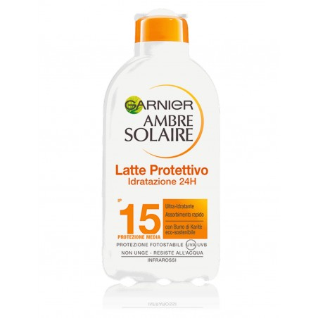 Garnier Ambre Solaire SPF 15 Moisturizing Tanning Milk 200ML