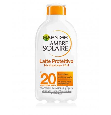 Garnier Ambre Solaire SPF 20 Latte Abbronzante Idratante 200ML