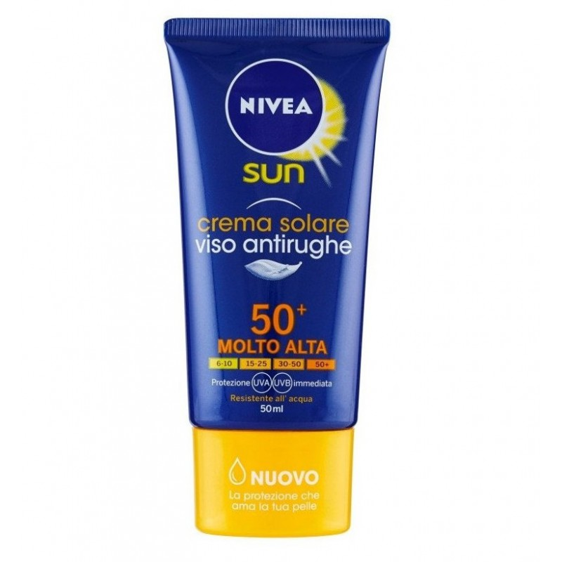 Nivea Anti-Wrinkle Solar Face Cream FP50 50ML