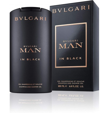 Bulgari Man in Black Gel Doccia Uomo 200ML