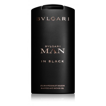 Bulgari Man in Black Men's Shower Gel 200ML