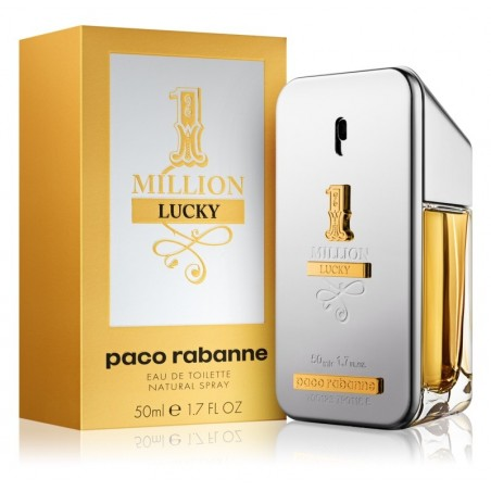 Paco Rabanne 1 Million Lucky Uomo 50ML Eau de Toilette