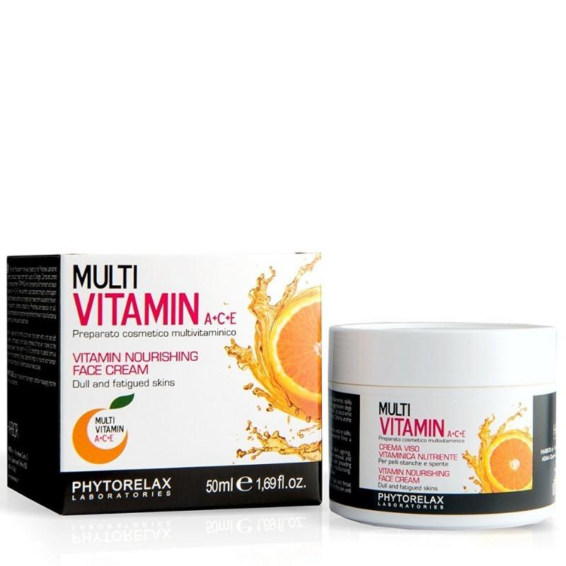 Phytorelax Multi Vitamin A + C + E Nourishing Face Cream 50ML