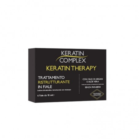 Keratin Complex Restructuring Treatment in Ampoules