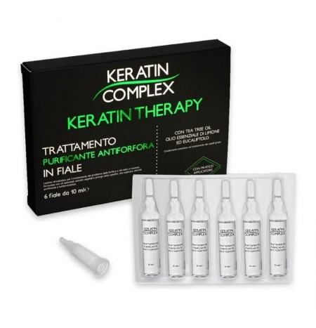 Keratin Complex Trattamento Purificante in Fiale