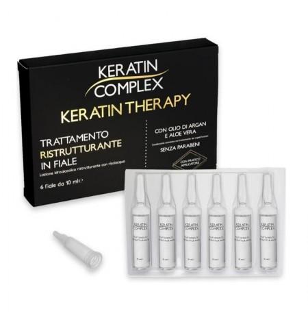Keratin Complex Trattamento Ristrutturante in Fiale