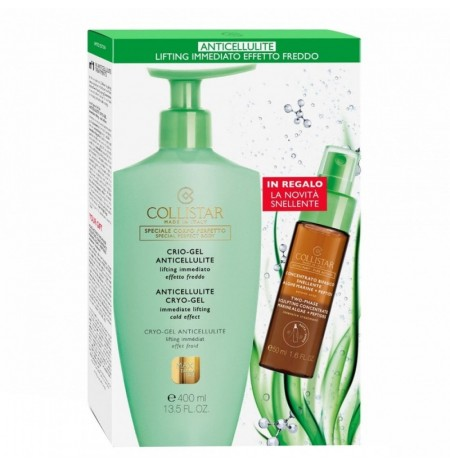 Collistar Crio-Gel Anticellulite Lifting Immediato Effetto Freddo 400ML