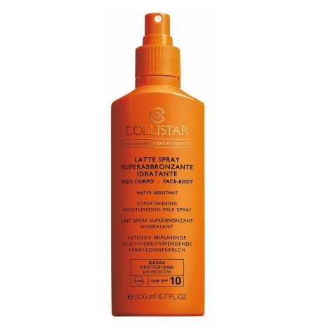 Collistar Super-Tanning Moisturizing Face and Body Spray Milk SPF 10 200ML