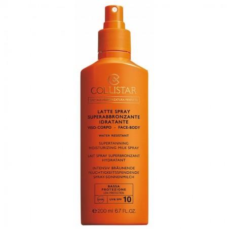 Collistar Super-Tanning Moisturizing Face and Body Spray Milk SPF 10 200ML