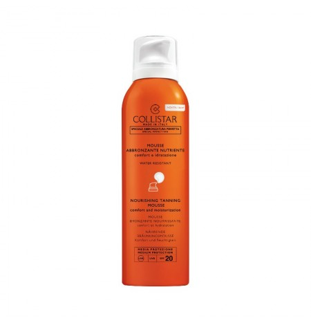 Collistar Mousse Abbronzante Nutriente SPF 20 200ML