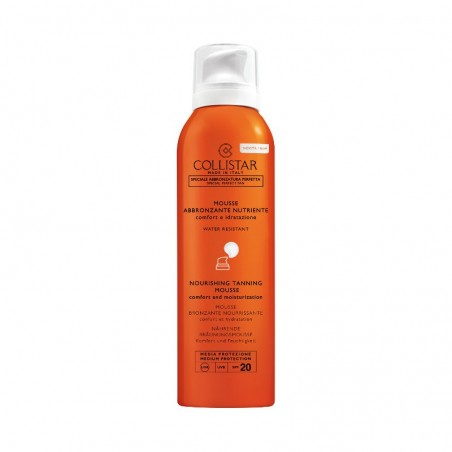 Collistar Nourishing Tanning Mousse SPF 20 200ML