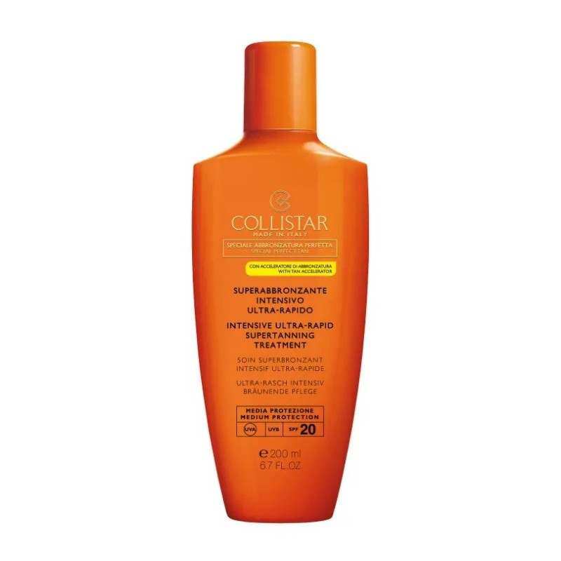 Collistar Superabbronzante Intensivo Ultrarapido SPF 20