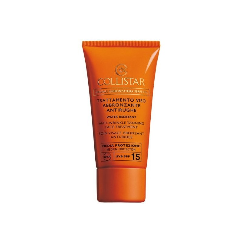 Collistar Anti-Wrinkle Tanning Face Treatment SPF15