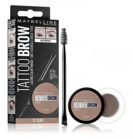 Maybelline Tattoo Brow Pomata in gel per sopracciglia