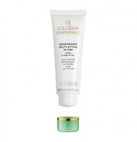 Collistar Multi-Active Deodorant 24 hours Rice Milk Cream