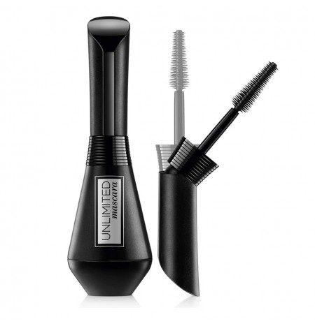 L'Oreal Paris Unlimited Lengthening Mascara Folding Bottle Brush Result up to 24 Hours