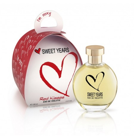Sweet Years I'm Sexy Red Kisses Eau de Toilette