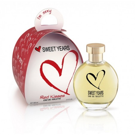 Sweet Years I'm Sexy Red Kisses Eau de Toilette