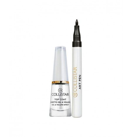 Collistar Top Coat Effetto Gel & Volume + Art Pen