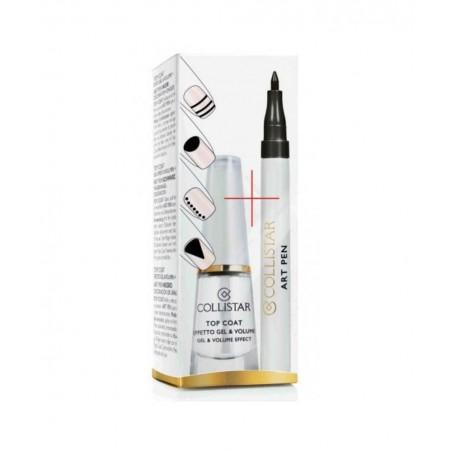Collistar Top Coat Effetto Gel & Volume + Art Pen