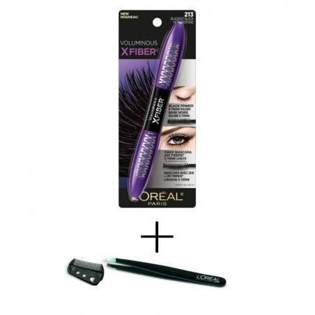 L'Oréal Mascara XFiber + Free Tweezers