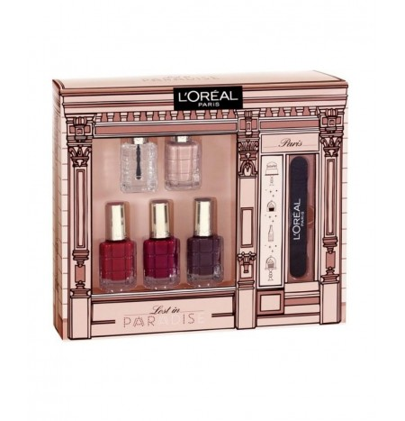 L'Oréal Paris Lost in Paradise Set 5 Smalti + 1 Lima Unghie
