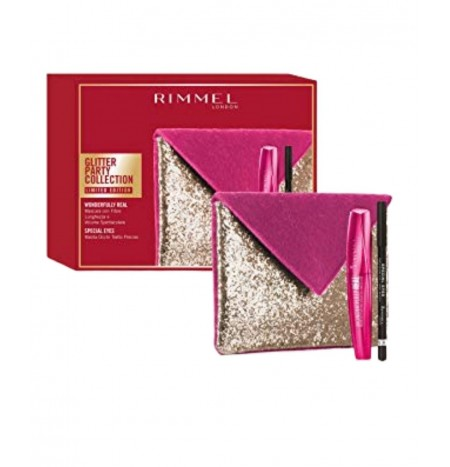 Rimmel London Pochette + Mascara Wonderfully Real + Matita