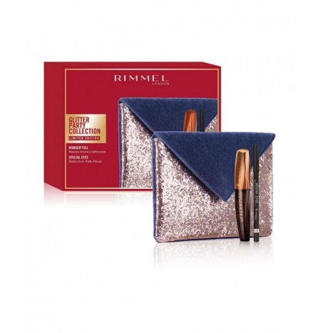 Rimmel London Pochette + Mascara Wonderfull + Matita