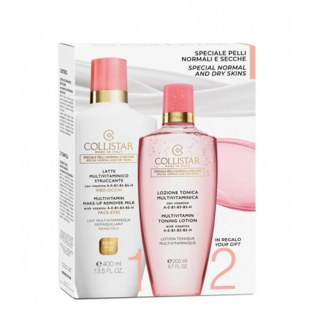 Collistar Multivitamin Face and Eye Make-up Remover Milk Kit
