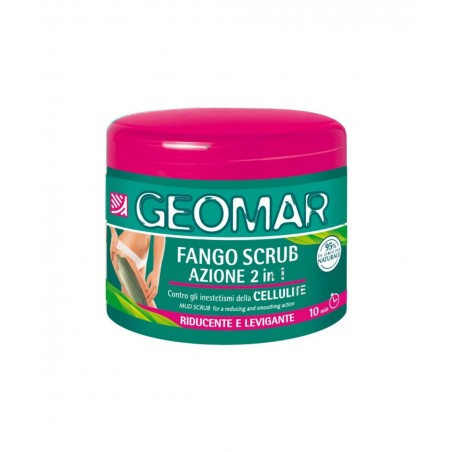 GEOMAR Mud Scrub Lipolytic and Exfoliating Action