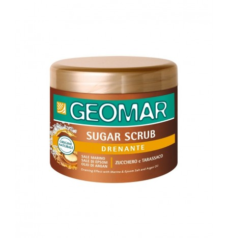 GEOMAR Sugar Scrub Draining Anti-Water Effect