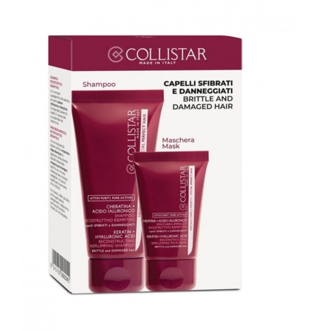 Collistar Kit Shampoo Ricostruttivo Riempitivo