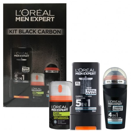 L'Oréal Men Expert Kit Black Carbon