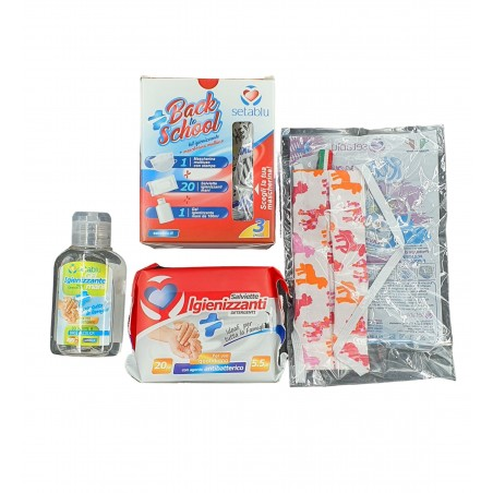 Setablu Sanitizer Kit + Multi-purpose Mask