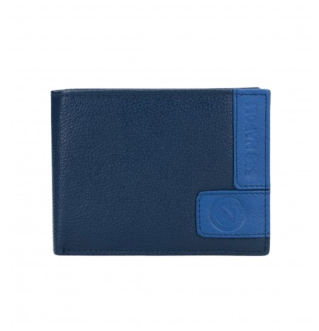 Enzo Castellano Men's wallet in leather SSC NAPOLI