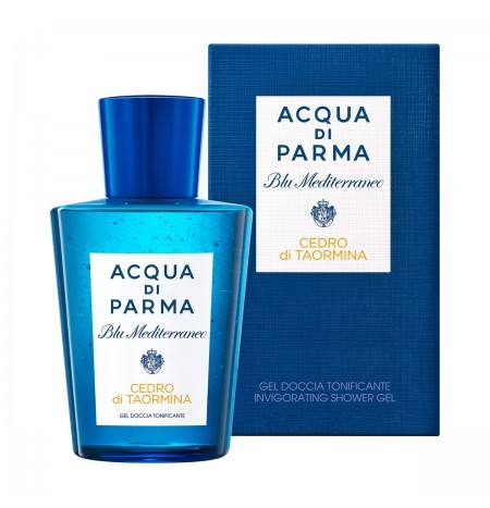 Acqua di Parma Mediterranean Blue Cedar Of Taormina toning Shower Gel