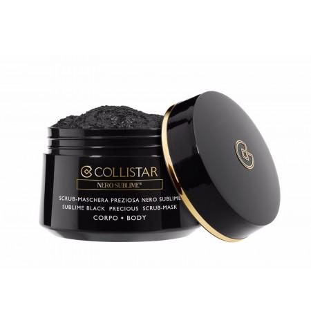 Collistar Scrub-Mask Precious Black Sublime Body